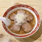 ラーメン まるいし - 料理写真:みそチャーシューメン ¥900
