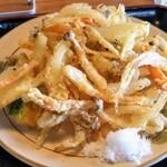 そば処 やまいち - 野菜天ぷら