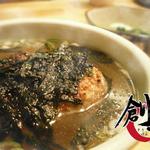 炭火やきとり 創玄 - 焼きおにぎりスープ
