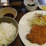 とんかつの浜田 - 料理写真:
