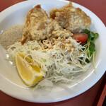 熱々食堂 - 鶏の唐揚げ