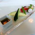 サーラ アマービレ - 季節野菜のバーニャカウド (2012/10)