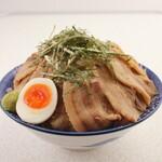 熟成醤油らーめん ヤマト醤店 - 肉ざるつけ麺790円(税込)