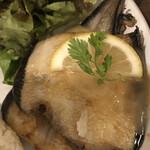 155752167 - 魚料理=舌平目のムニエル レモンバターソース