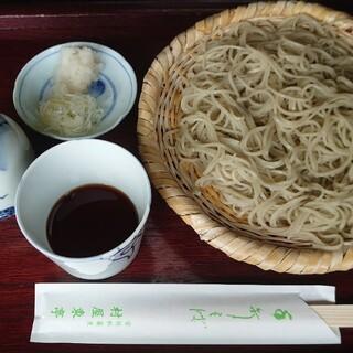 村屋東亭 - 料理写真:もりそば