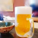 蓬来軒 - 生ビール