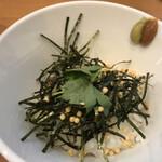 らーめん工房 麺作 - 追い茶漬け