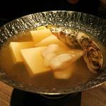 馬場六区 - 真タラと野菜で 湯豆富 (2012/10)