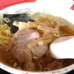 中華料理 紅蘭 - 半ラーメン