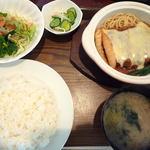 コンコンブル - ランチ(チーズメンチカツ)