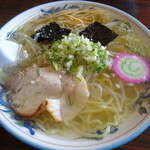 味の清ちゃん - 塩ラーメン 600円
