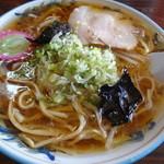 味の清ちゃん - 醤油ラーメン 600円