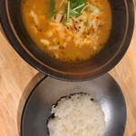 Soup Curry 笑くぼ - チーズカレー