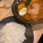 Soup Curry 笑くぼ - 野菜ゴロゴロチキンカレー