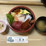おたる 魚亭 - 料理写真:ちらし寿司