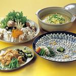 飯台  - 食べごたえあり!とらふぐコース5000円(1人前)