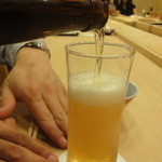 すし北野 - 瓶ビール