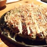 名古屋駅 古民家居酒屋 銑 - おもちチーズのお好み焼き(ずく)