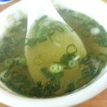 一芳亭 - スープ(竹の子)