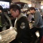 九州酒場だんだん. - 横長のテーブル席がいくつかございます