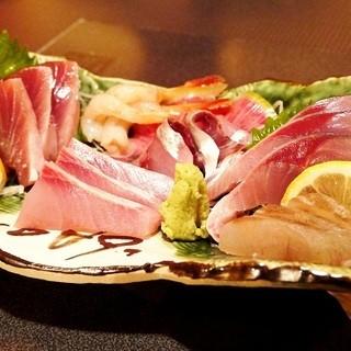 毎日仕入れるおいしいお魚