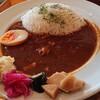 サカータブロス - 料理写真:ポークandチキンのトマトカレー