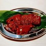 155804157 - レバー辛味噌。
