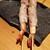 もつ鍋 うっかり - 料理写真:エビと大葉の肉巻き・@350円