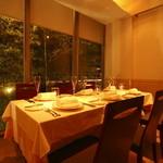 レストラン ヒロミチ - 内観写真:店内ディナー
