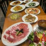 エノテカ ドォーロ オンニ ジョルノ - 料理一例
