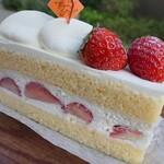 Un Fond Solaire - 苺のショートケーキ