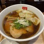 麺処 天川 - ワンタン醤油ラーメン 970円