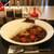 マイカリー食堂 - 料理写真:煮込みダブル牛すじカレー 大盛(激辛・揚げ茄子&トマト煮込みトッピング)