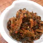 15582847 - 辛子高菜。激辛?