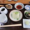狭山 翁 - 料理写真:「そばセット」一式