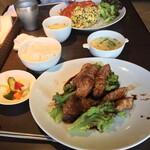百華 - 料理写真:叉焼セット1,250円