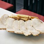 元祖 札幌や - 焼き豚とメンマの盛り合わせ