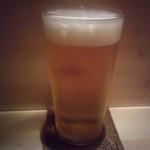 ぼらぁちょ - 生ビール(ハートランド)