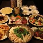 美食酒家 楽楽 - 美食コース