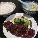 真助 - 牛タン定食(タレ)
