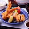 とんかつの和くら - 料理写真:海老ヒレかつ膳