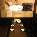 美食酒家 楽楽 - テーブル