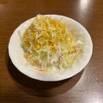 155852646 - タン炭焼セットのサラダ