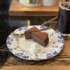 古瀬戸珈琲店 - 料理写真:チョコレートケーキとアイスコーヒー