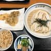 手作りうどん 天粉盛 - 料理写真:ざるうどんセット