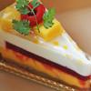アンプレシヨン - 料理写真:シュルプリーズ マンゴー(400円)