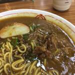 京一 - 中からは蒲鉾・少し甘い味付けの牛肉
