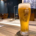 かいえん - 生ビール 550円