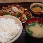 とんかつよしえ - 料理写真:チョウセン焼き定食  1250円