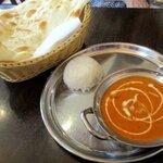 マハル アジアンダイニング - 料理写真:バターチキンセット!